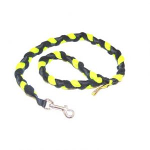 30″ Braided Fleece Training Leash (Snap)