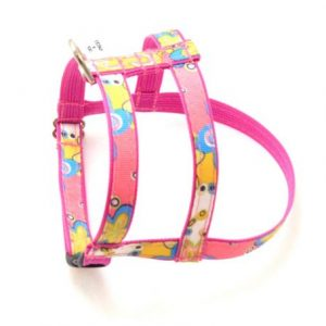 Caribbean Coral Pink Dog Harness