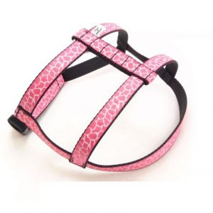 Pink Giraffe Dog Harness