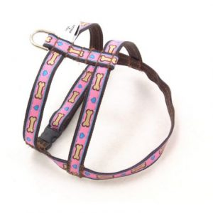 Hearts and Bones Dog Harness