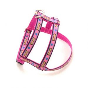 Pink Puppy Love Dog Harness
