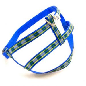 MacLeod Blue Plaid Dog Harness