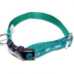 Isle of Skye Plaid Dog Collar