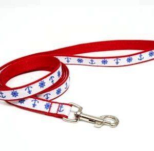 Marina Nautical Dog Leashes