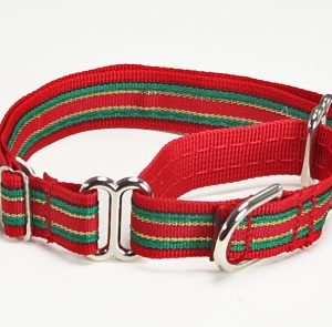 Glorious Holidays Martingale Dog Collars
