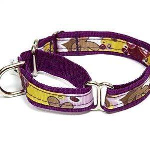 Crazy Dazie Petunia Martingale Dog Collars