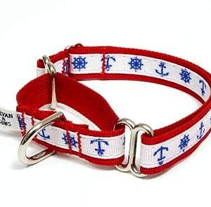 Marina Nautical Martingale Dog Collars