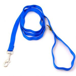 Super-Soft Blue Premium Snap Leash