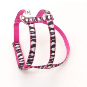 Blushing Zebra Dog Harness