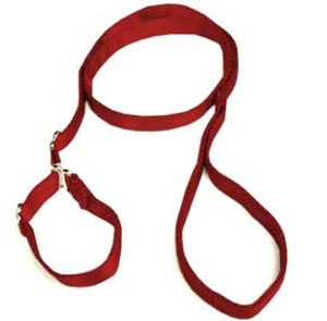 Super-Soft Paprika Premium Slip Leash