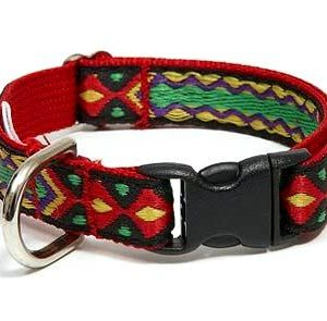 Rasta Mon Cat Collar