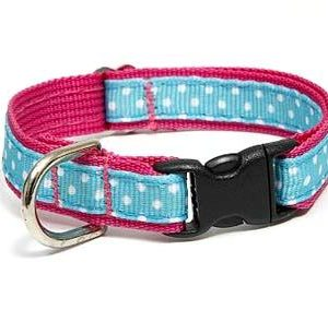 Sanibel Polka Dot Pink Safety Cat Collars