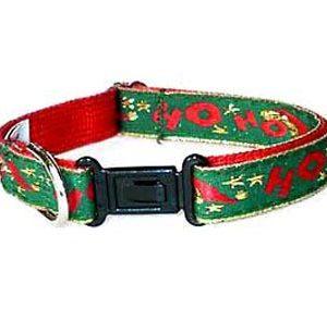 Santa's Cheer Breakaway Christmas Cat Collars