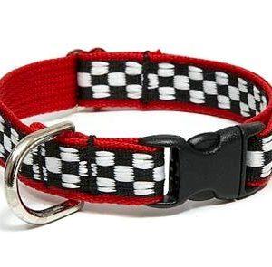 Motor Speedway Red Breakaway Cat Collars