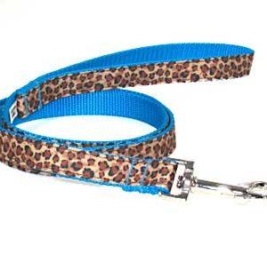 Turquoise Leopard Leash