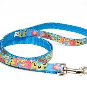Crazy Dazie Periwinkle Dog Leashes
