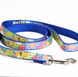 Caribbean Blue Splash Leash