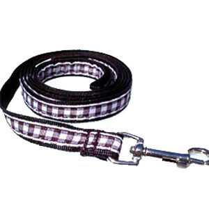 Black & White Gingham Leashes
