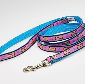 Tahitian Hearts Dog Leash