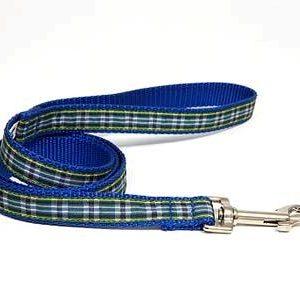 MacLeod Blue Plaid Leashes