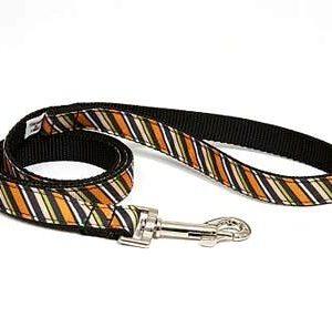 Wall Street Stripe Dog Leashes
