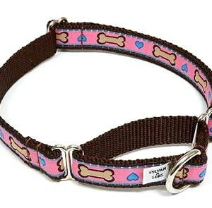 Hearts & Bones Martingale Dog Collars