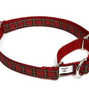 Tartan Clan Plaid Dog Martingale Collars