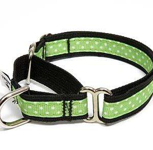 Margarita Polka Dot Martingale Dog Collar
