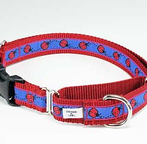 Cutie Bug Buckle Martingale Dog Collar