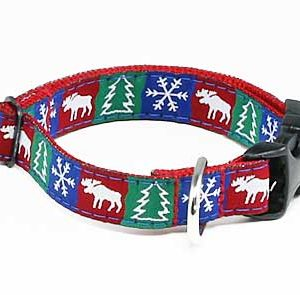Up North Winterfest Dog Collar