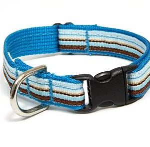 Retro Blue Ice Dog Collar