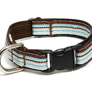 Retro Chocolate Ice Dog Collar