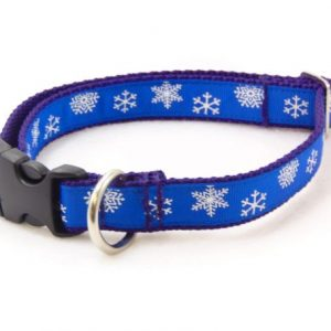 Snowy Night Dog Collar