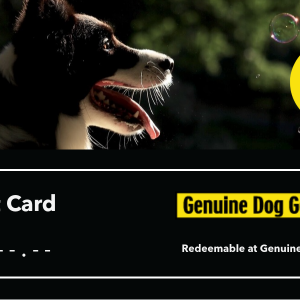Genuine Dog Gear Gift Card