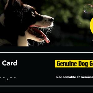 Genuine Dog Gear Gift Card